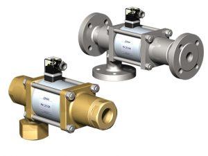Coaxial valves